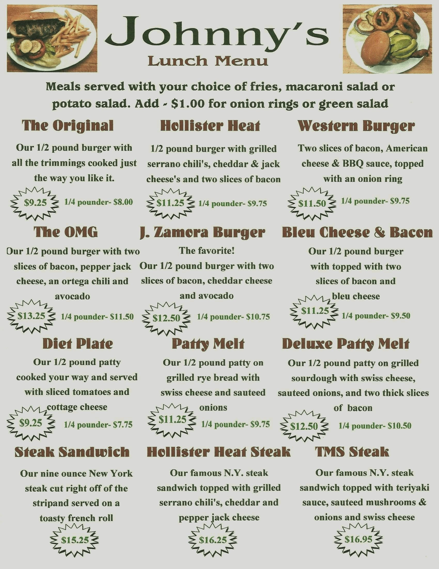 Johnny's Menu - Final Draft copy 3