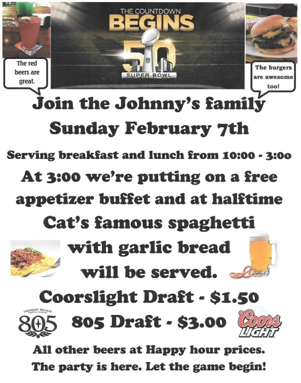 Superbowl-50-party-johnnys-bar-and-grill-hollister-california