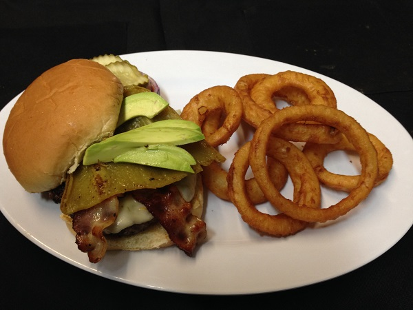 The OMG - Our most popular burger