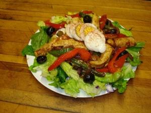 The Fajita chicken Salad