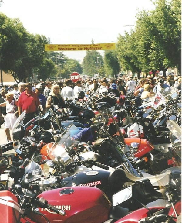 The 1997 Hollister Motorcycle Rally