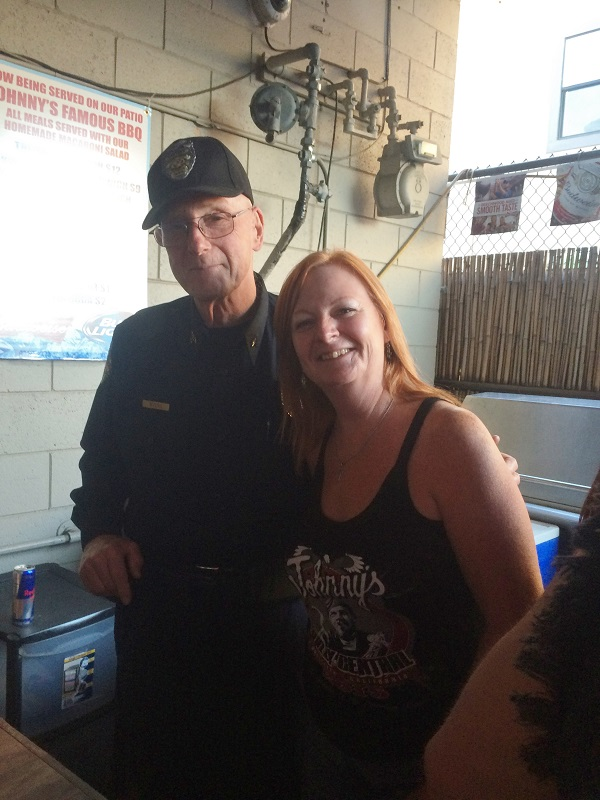professional security hollister freedom rally wrap up from johnnys bar grill