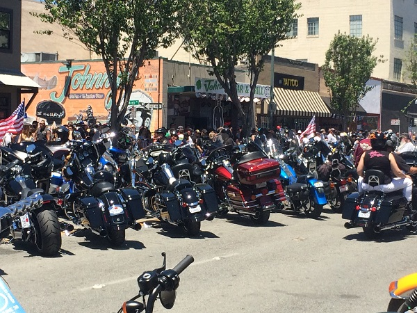 Will we see motorcycles jam onto San Benito Street this July?