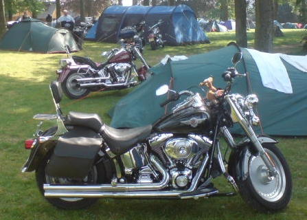 camping motorcycle best